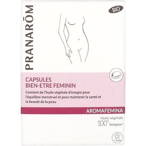 Aromafemina bien-être féminin bio 30 capsules