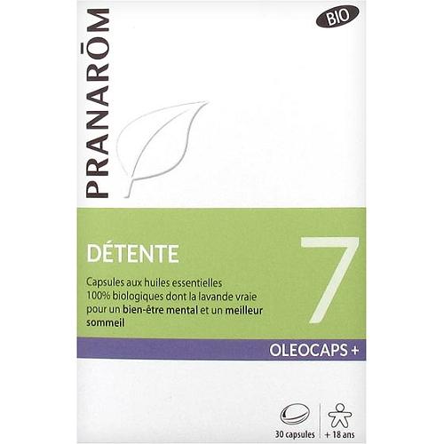 Oléocaps+ 7 détente bio 30 capsules