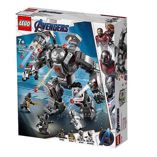 Machine De Marvel Super L'armure Lego® Heroestm War 76124 2WeEDH9IY