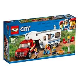 LEGO - LEGO® City - Le pick-up et sa caravane - 60182 - 60182