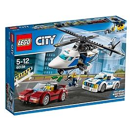LEGO - LEGO® City La course-poursuite en hélicoptère - 60138