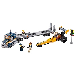 LEGO - LEGO® City - Le transporteur du dragster - 60151