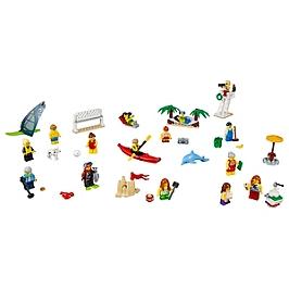 LEGO - Ensemble de figurines LEGO City - La plage - 60153