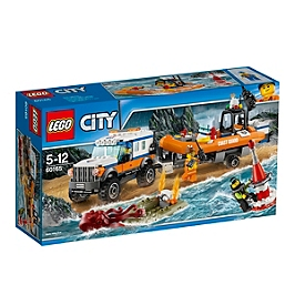 LEGO - L'unité d'intervention en 4x4 - 60165