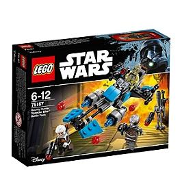 LEGO - Pack de combat la moto speederTM du Bounty Hunter - Star WarsTM - 75167