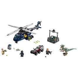 LEGO - La poursuite en hélicoptère de Blue - 75928