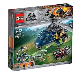 LEGO - La poursuite en hélicoptère de Blue - Universal PT IP1 2018 - 75928