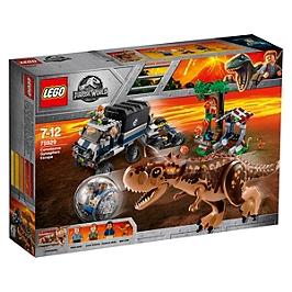 LEGO - Le Carnotaurus et la fuite en Gyrosphère - Universal PT IP1 2018 - 75929
