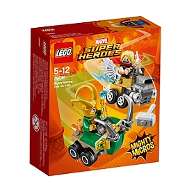 LEGO - Mighty Micros : Thor contre Loki - Marvel Super Heroes - 76091
