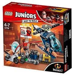 LEGO - LEGO® Juniors The Incredibles II - La poursuite sur les toits d'Elastigirl - 10759 - 10759
