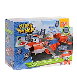 Playset Avion Jett's Takeoff Tower - Super Wings - EU720830