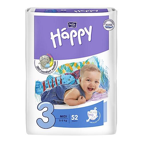 Happy - taille 3 - de 5 à 9 kg  x52