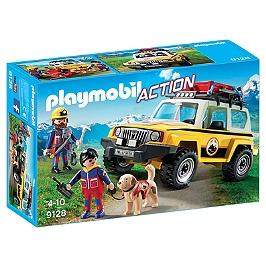 PLAYMOBIL - Secouristes avec véhicule  - 9128