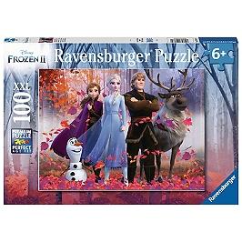 Puzzle 100 P Xxl - La Magie De La Forêt  / Disney La Reine Des Neiges 2 - La Reine Des Neiges - 4005556128679