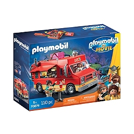 Playmobil The Movie Food Truck De Del  - Playmobil The Movie - 70075