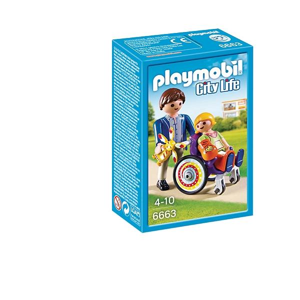 Espace Fauteuil En Roulant Enfant Et Playmobil Jouets Papa thQdCsr