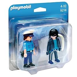 Duo Policier et voleur - 9218