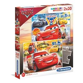 SuperColor 2x20 pièces - Cars 3 - Cars 3 - 07027