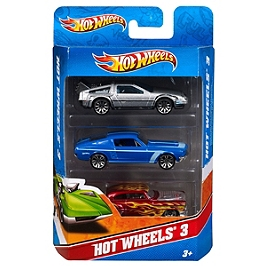 HOT WHEELS COFFRET 3 VEHICULES - FJM62