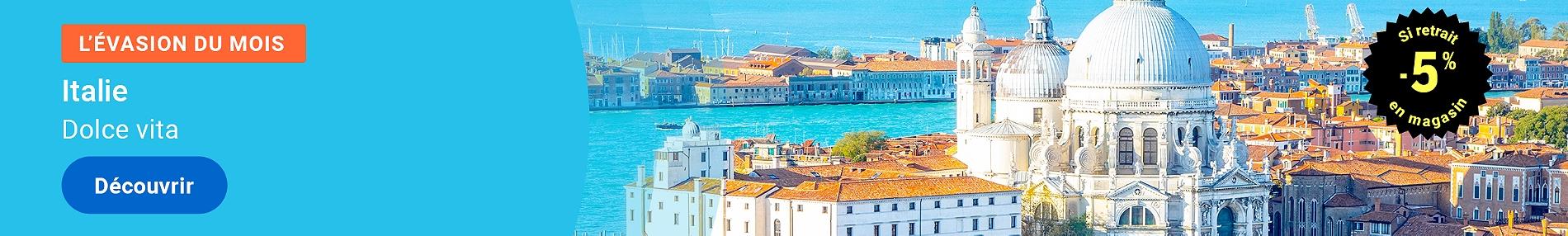 L'évasion du mois - Italie
