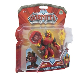 Gormiti - Figurine Deluxe Articulée De 12 Cm - Keryon - Giochi Preziosi - GRM021