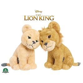Roi Lion - Le Film - Peluches 17 Cm Simba & Nala Câlins - Disney - LNN02