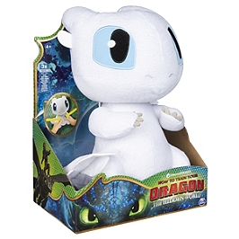 Peluche Deluxe Sonore Lightfury Film Dragons 3 (Solid) - Dragons - 6046845