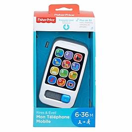 Fisher-Price - Mon Téléphone Mobile - Jouet D'éveil  - 6 Mois Et +  - Fisher Price - BHB89