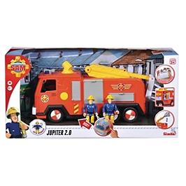 SAM LE POMPIER CAMION POMPIER JUPITER + 1 FIG - Sam le Pompier - SMO109251036002