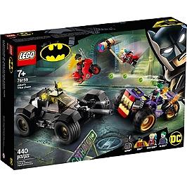 Lego® Dc Comics Super Heroes - La Poursuite Du Joker En Moto À 3 Roues - 76159 - 76159