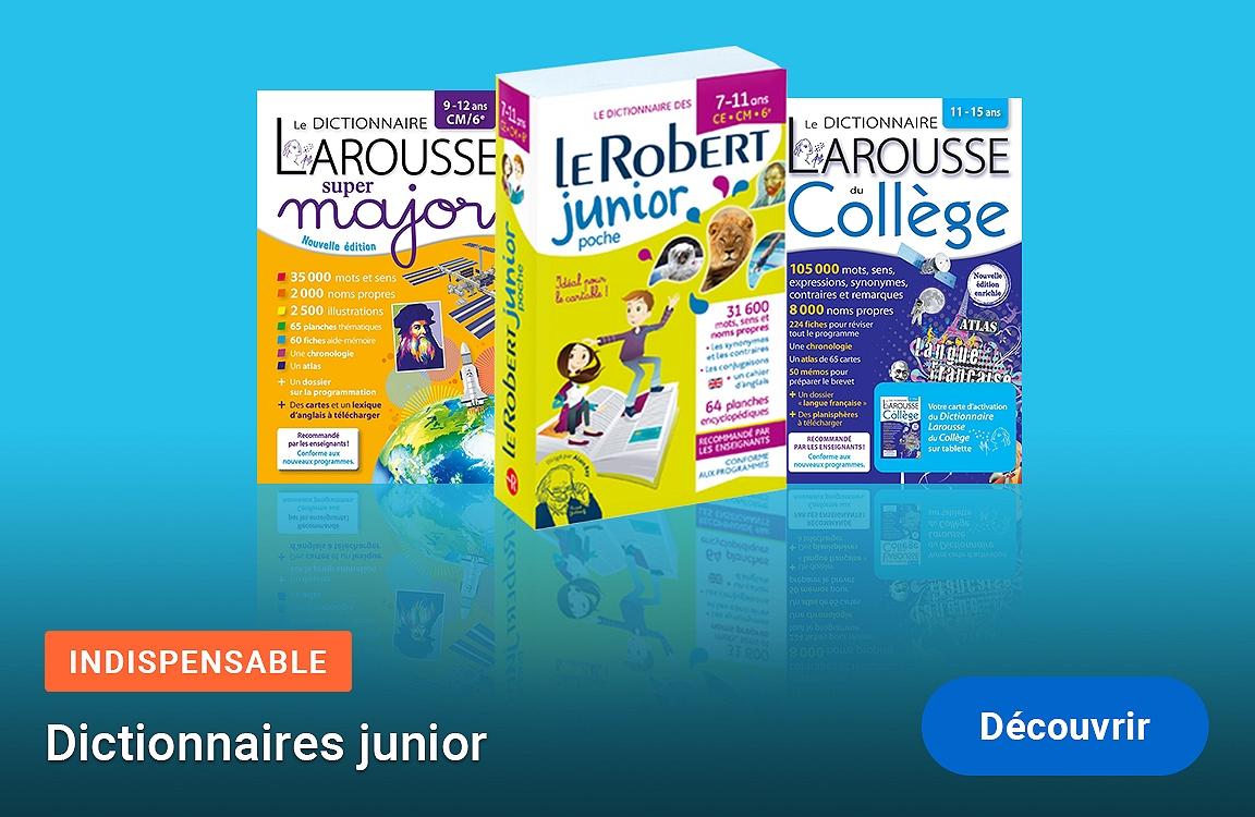 Dictionnaires junior