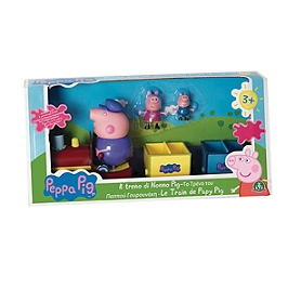 Peppa Pig  - Train Avec 3 Personnages - Entertainment One - 4892
