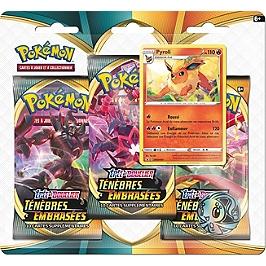 Pokemon Epée Et Bouclier-Ténèbres Embrasées (Eb03) : Pack 3 Boosters - Pokemon - 3PACK01EB03