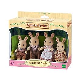 La Famille Lapin Crème  - Sylvanian Families - 4108
