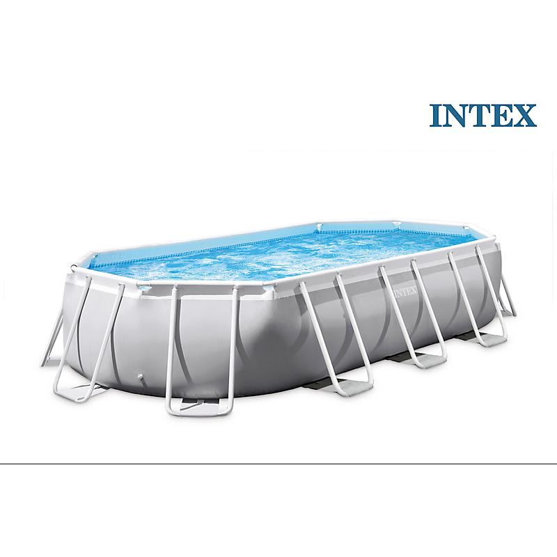 Kit piscine tubulaire ovale PRISM FRAME 400 x 200 x H.100 cm