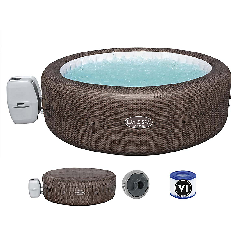 Spa gonflable rond Lay-Z-Spa® St Moritz Airjet™ Ø216 x 71 cm