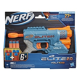 Nerf Elite 2.0 Volt Sd-1 Et Flechettes Nerf Elite Officielles - Nerf - E99522210