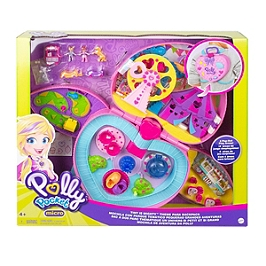 Polly Pocket - Fête Foraine Transportable - Mini-Poupée - 4 Ans Et + - Polly Pocket - GKL60