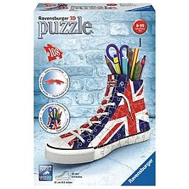 Puzzle 3D Sneaker - Union Jack - Aucune - 4005556112227