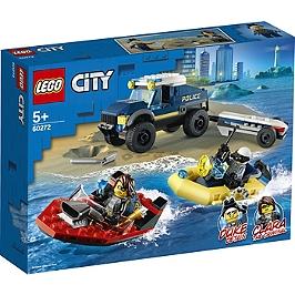 Lego® City - Le Transport De Bateau De La Police D'élite - 60272 - 60272