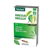 Thé vert, Café vert, Bouleau, Reine des prés Bio - 20 Ampoules