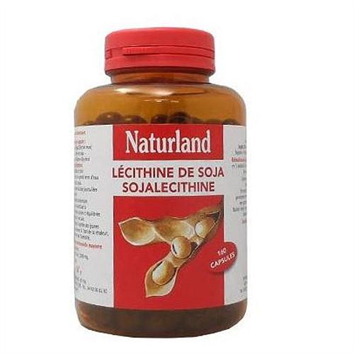 Lécithine de soja naturland 160 capsules