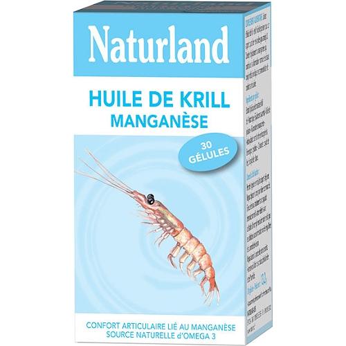 Huile de krill manganèse 30 capsules