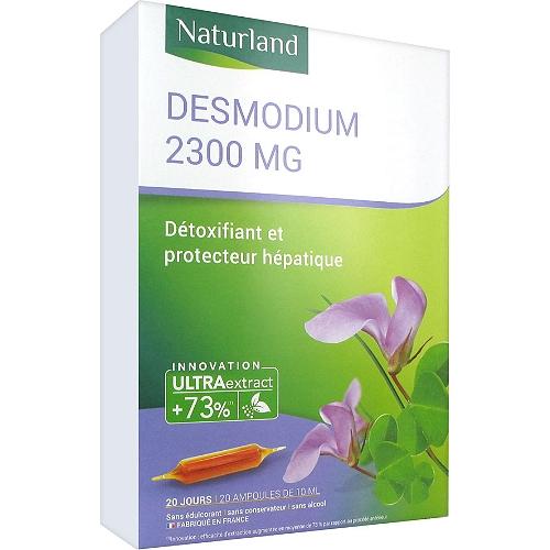 Desmodium 2300 mg 20 ampoules buvables 10ml
