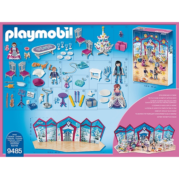 Calendrier De L Avent Playmobil Pas Cher.Calendrier De L Avent Bal De Noel 0