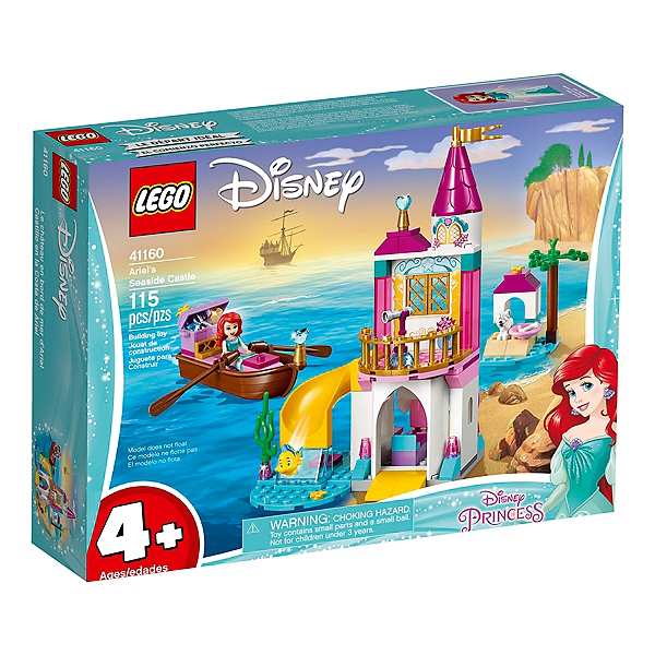 Lego Disney Princess Le Château En Bord De Mer D Ariel 41160