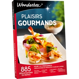 Wonderbox - Plaisirs Gourmands