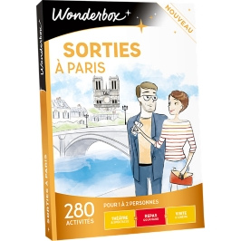 Wonderbox - Sorties à Paris
