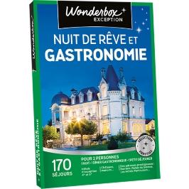 Wonderbox - Nuit de rêve et gastronomie