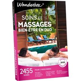 Wonderbox - Soins et massages bien-être en duo